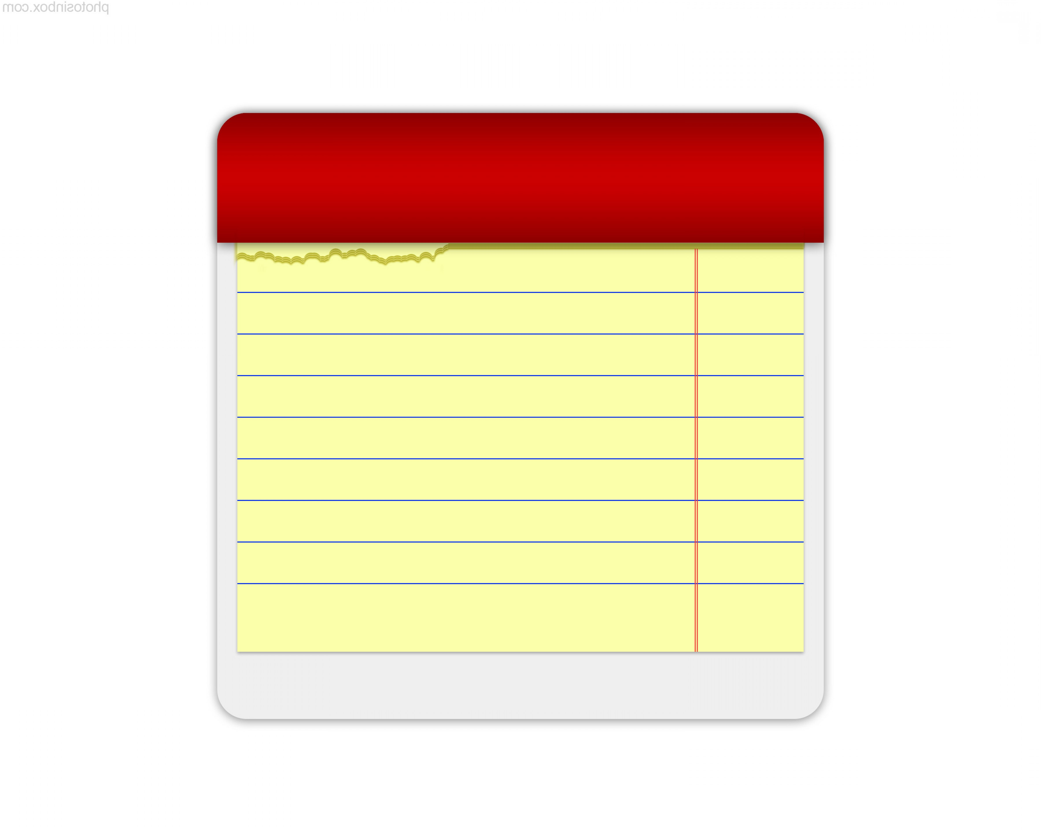 Piece Of Notebook Paper Clipart - ClipArt Best