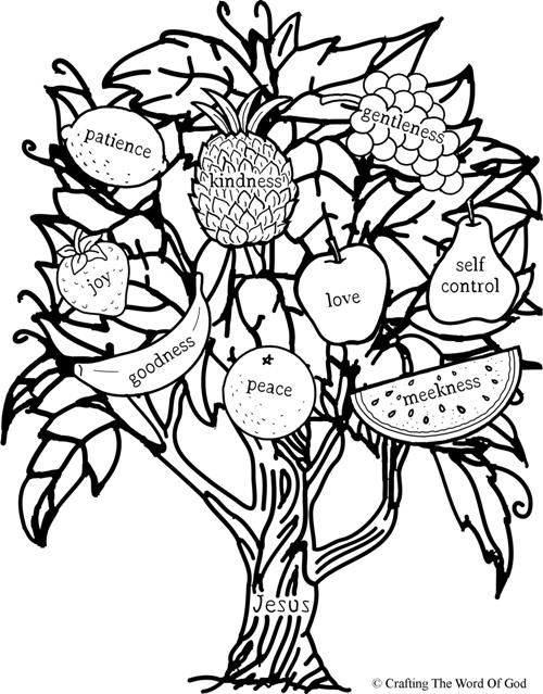 Tree Vines Coloring Pages