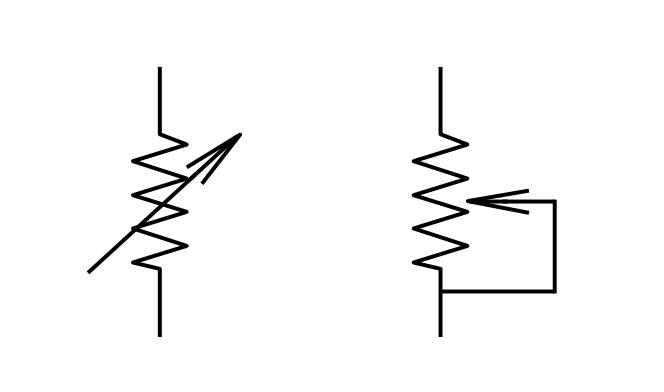 resistor symbols