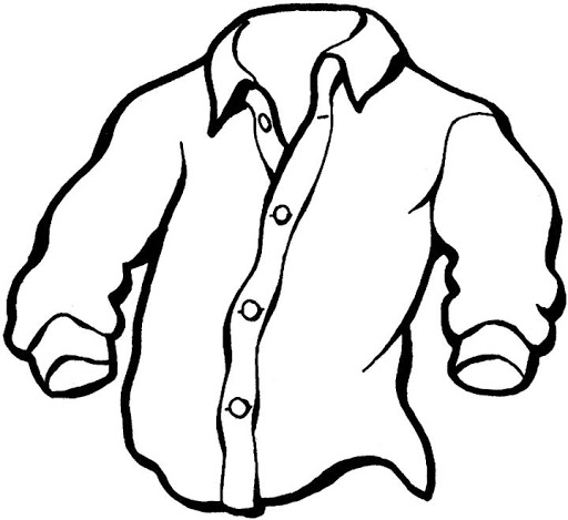 SHIRT FOR COLORING . Free cliparts that you can download to you ...