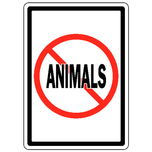 No Animals Allowed Sign - ClipArt Best