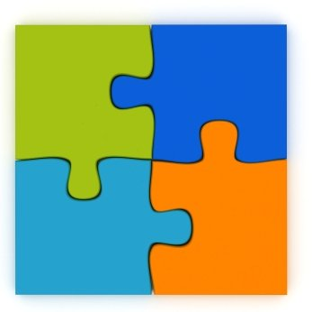 16 4 piece jigsaw puzzle template . Free cliparts that you can ...