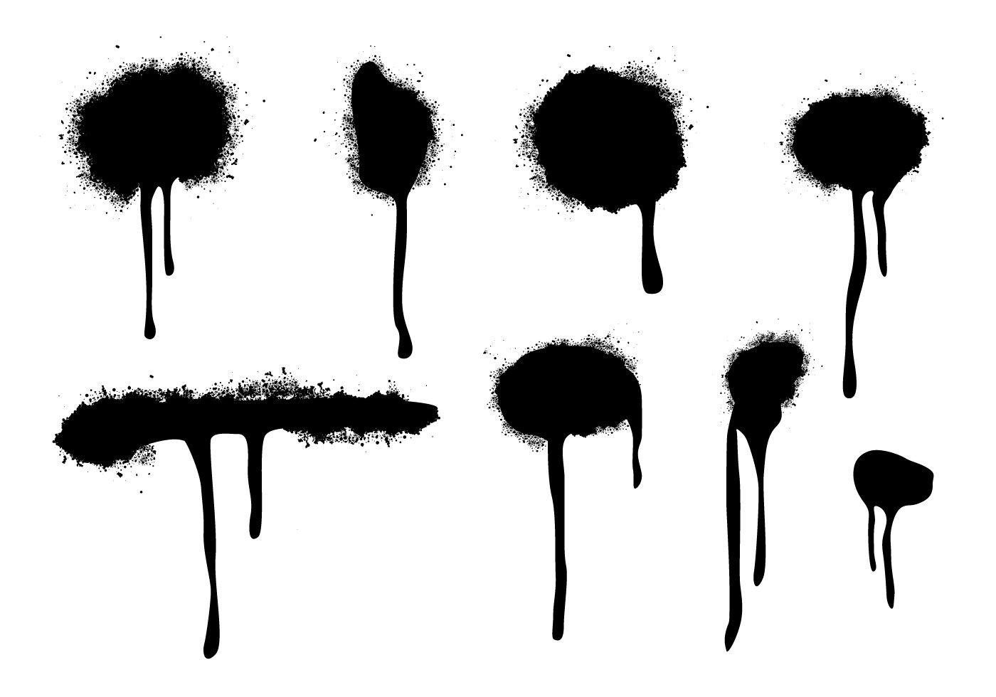 Graffiti Cap Spray Paint Brushes Photoshop