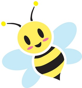 Buzzing Bee Clipart - Free Clipart Images
