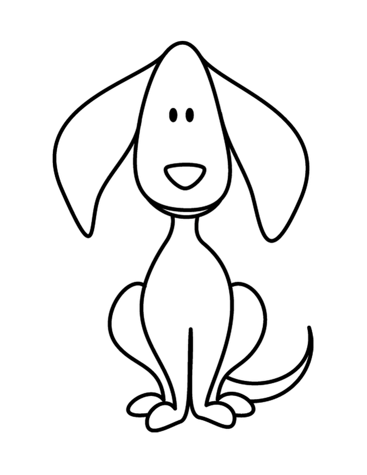 Line Art Drawing Easy : Simple line drawings for kids clipart best