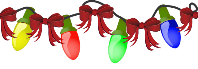 Free Christmas Lights Clipart Pictures - Clipartix