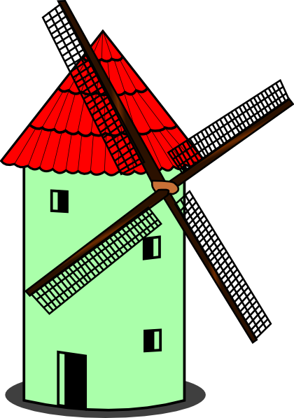 Clip Art Windmill Clipart windmill clip art clipart best free download on