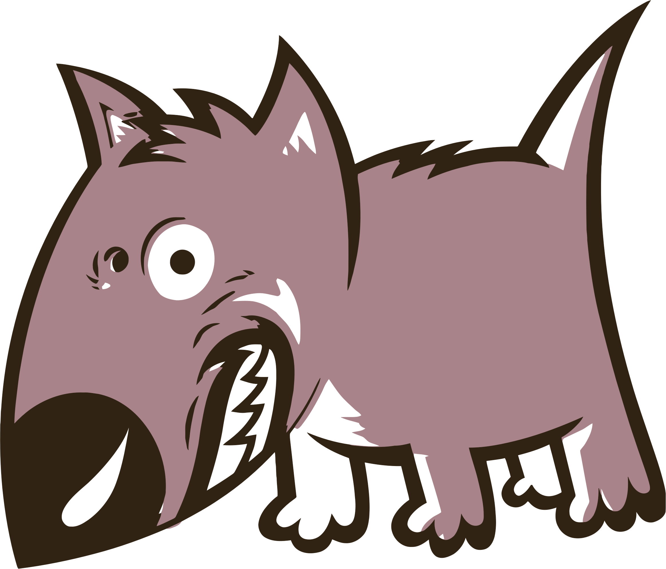 angry dog clip art - photo #29