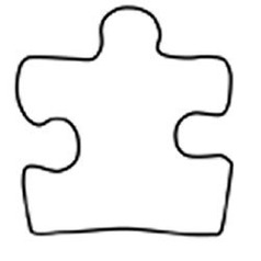Puzzle Pieces Coloring Page Clipart - Free to use Clip Art Resource