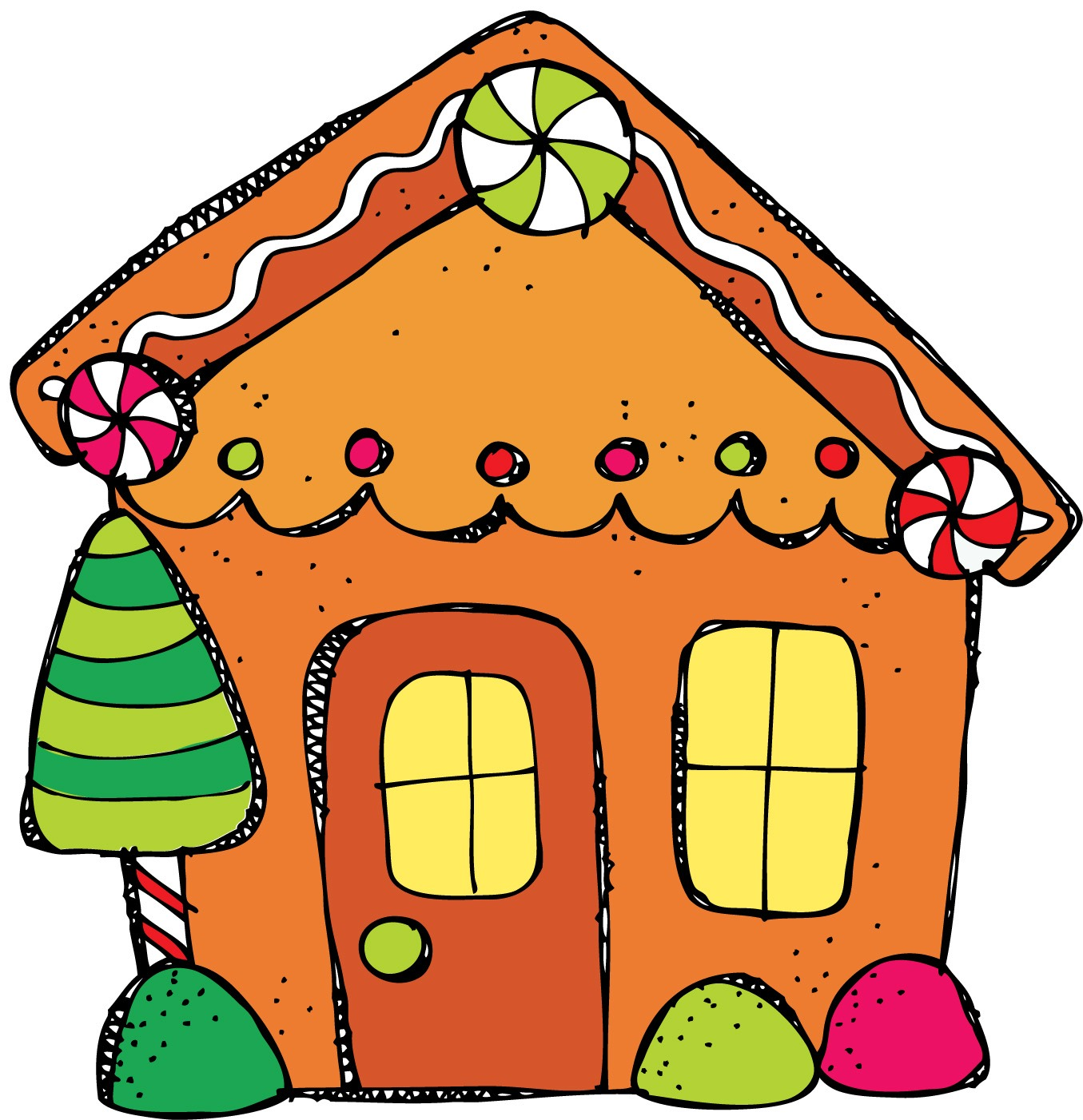 free gingerbread house clipart - photo #8