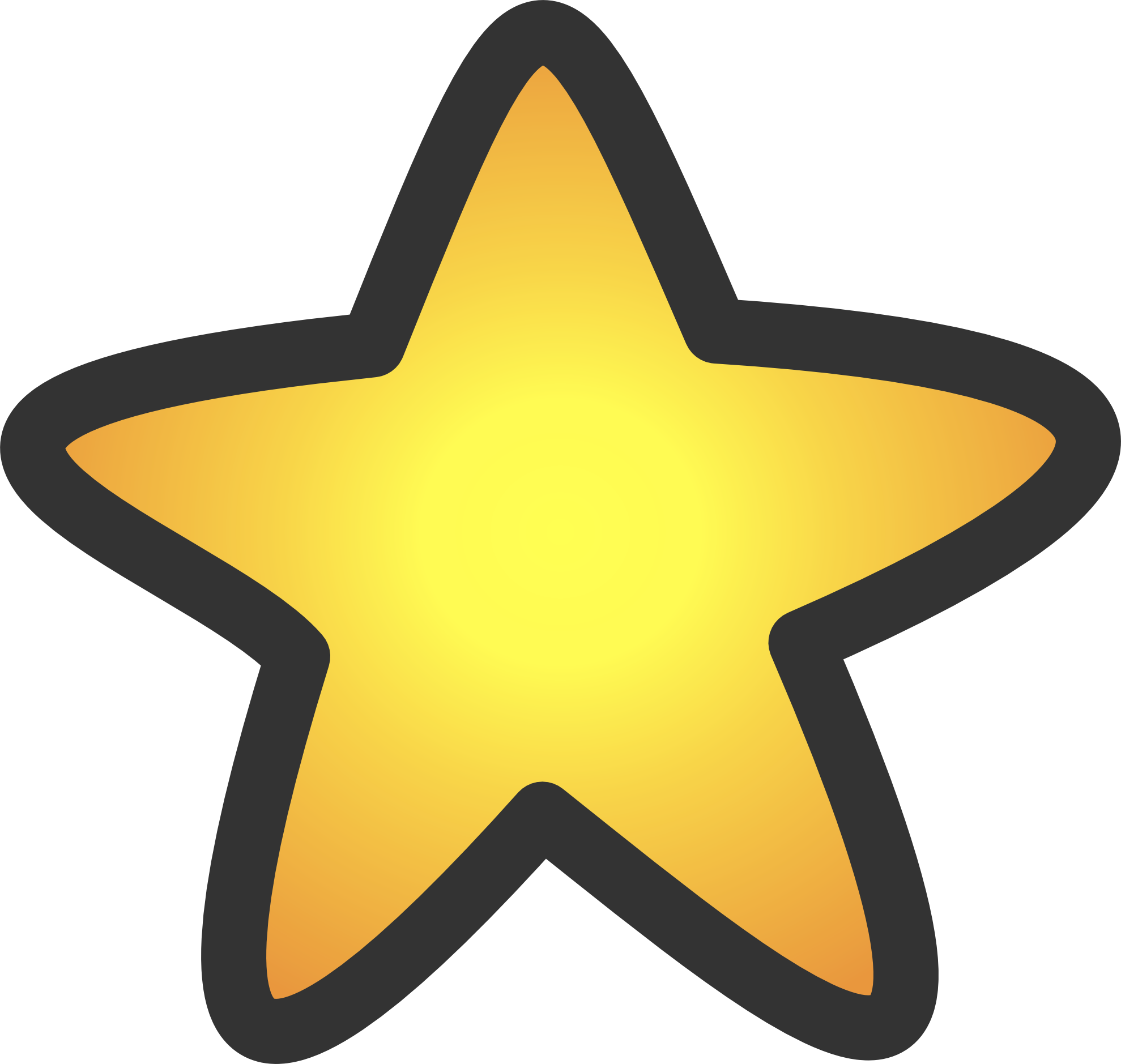 Gold star SVG - ClipArt Best - ClipArt Best