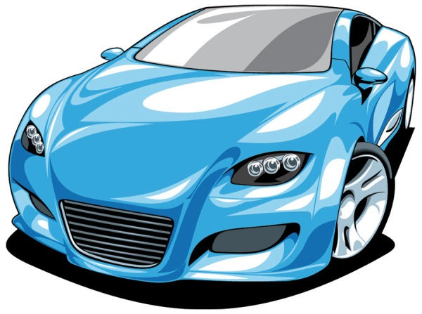 Cartoon Sports Cars Clipart Best