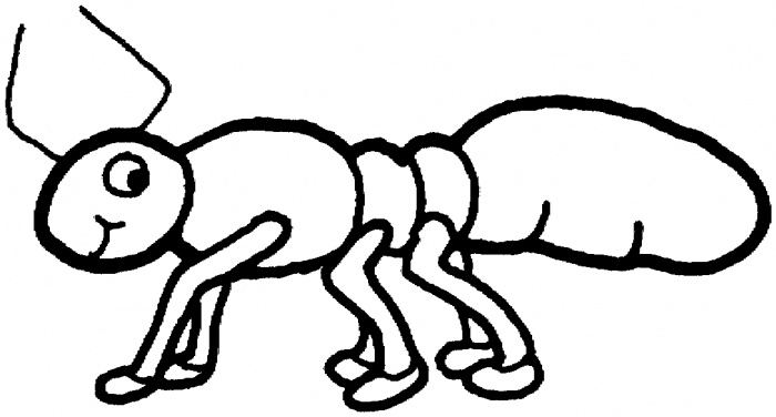 ants coloring pages super coloring - Ant Coloring Page Black White