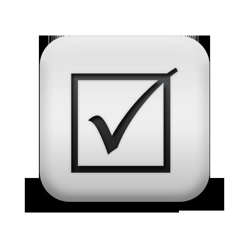 Grey Tick Mark - ClipArt Best