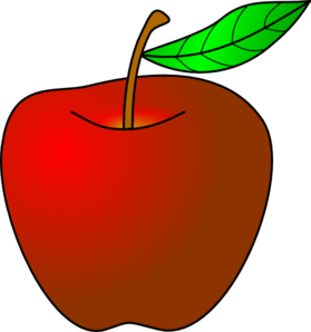 Apple clip art - vector clip art online, royalty free & public domain