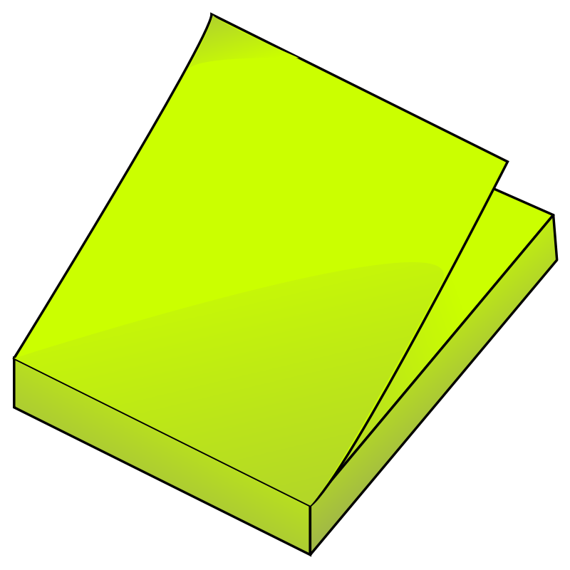 Post It Note Vector - ClipArt Best