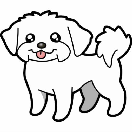 free clipart maltese dog - photo #24
