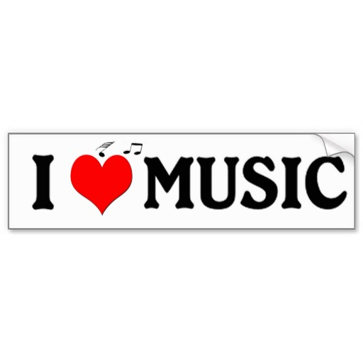 Music Bumper Stickers, Music Bumper Sticker Designs