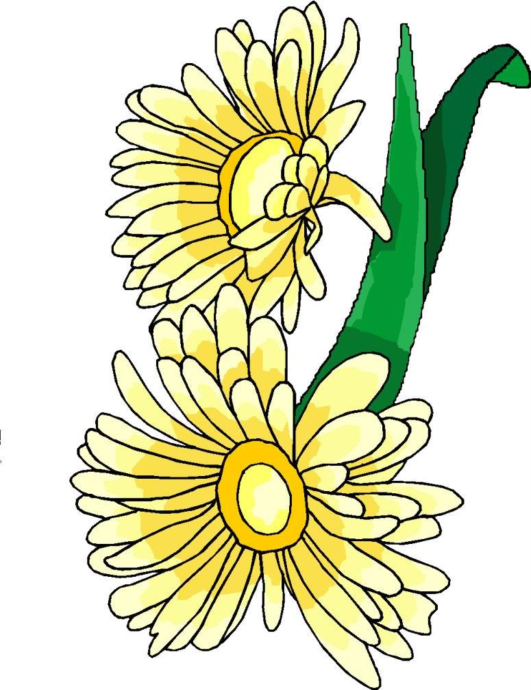 free easter flower clip art - photo #45