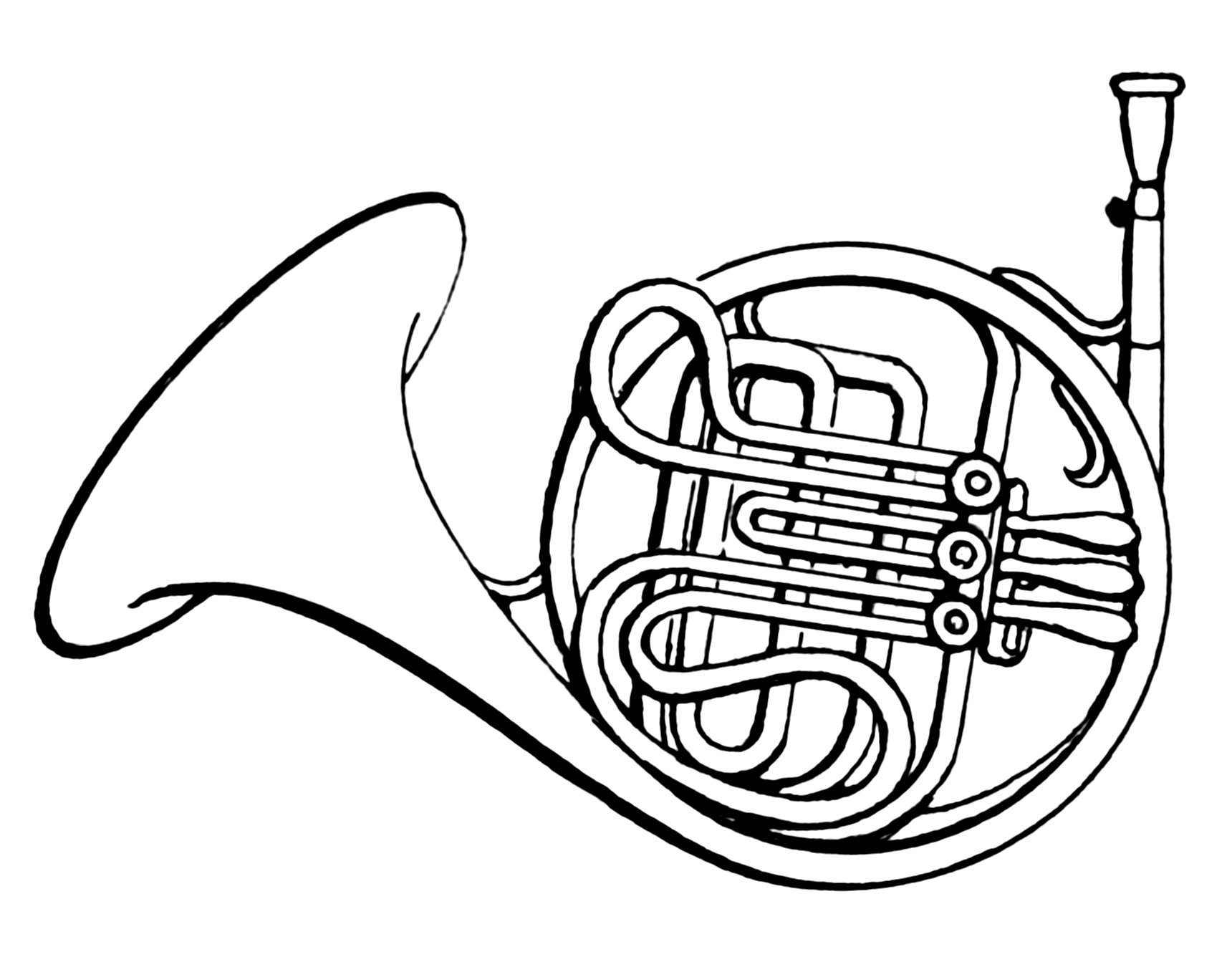 11 french horn clip art free cliparts that you can download to you    French Horn Clipart