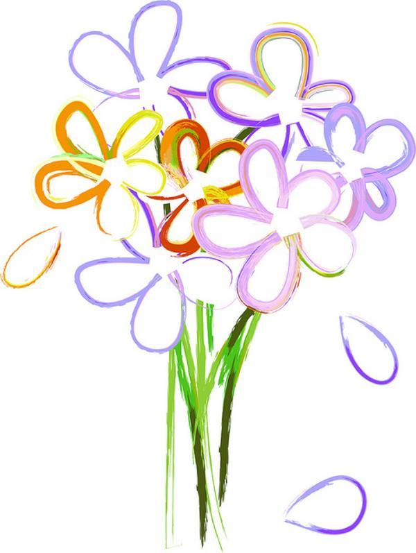 Free Flower Bouquet Clip Art - ClipArt Best