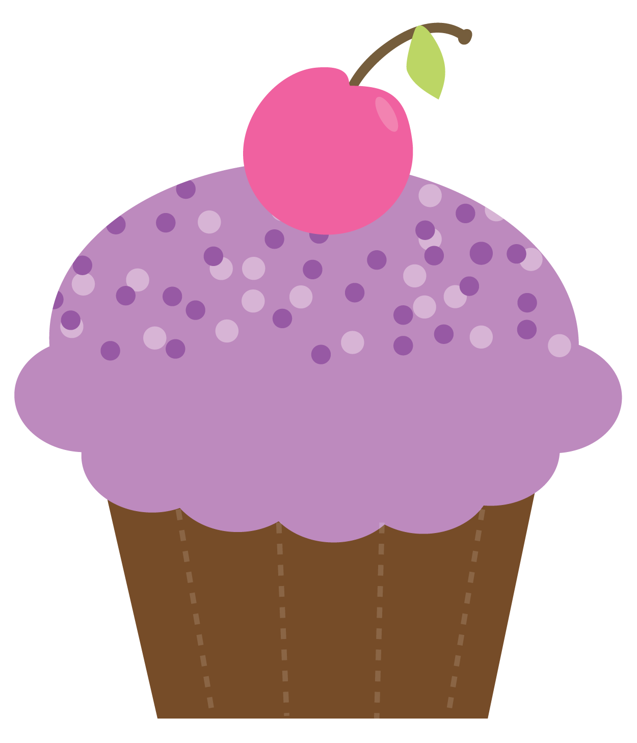 Free Cupcake Clipart : Birthday Cupcake Drawing - ClipArt Best - ClipArt Best