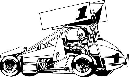 free sprint car clip art - photo #11