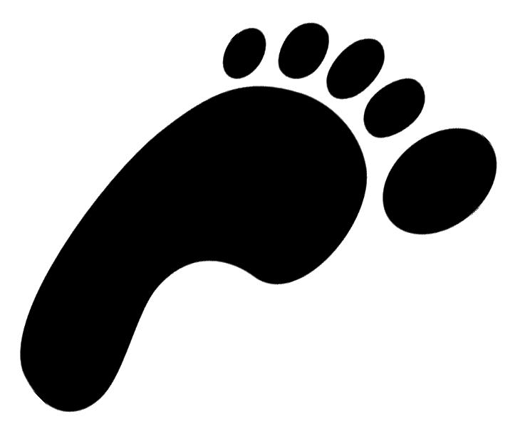 Clip Art Footsteps Clipart footsteps clipart best footprint clip art