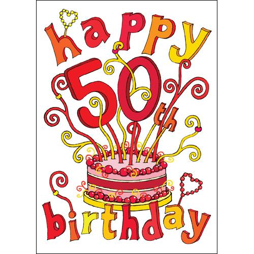Happy 50th Birthday Images