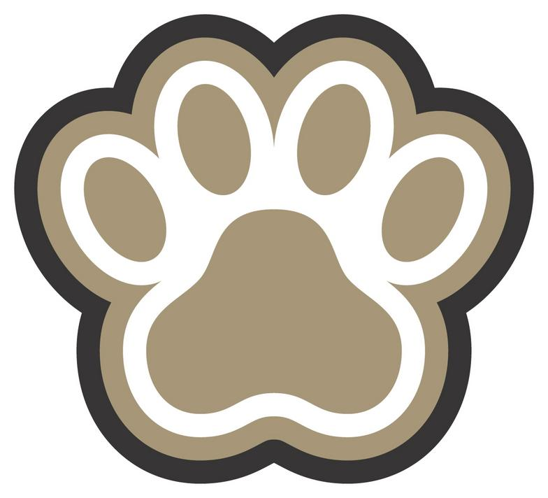 43 bulldog pawprint . Free cliparts that you can download to you ...