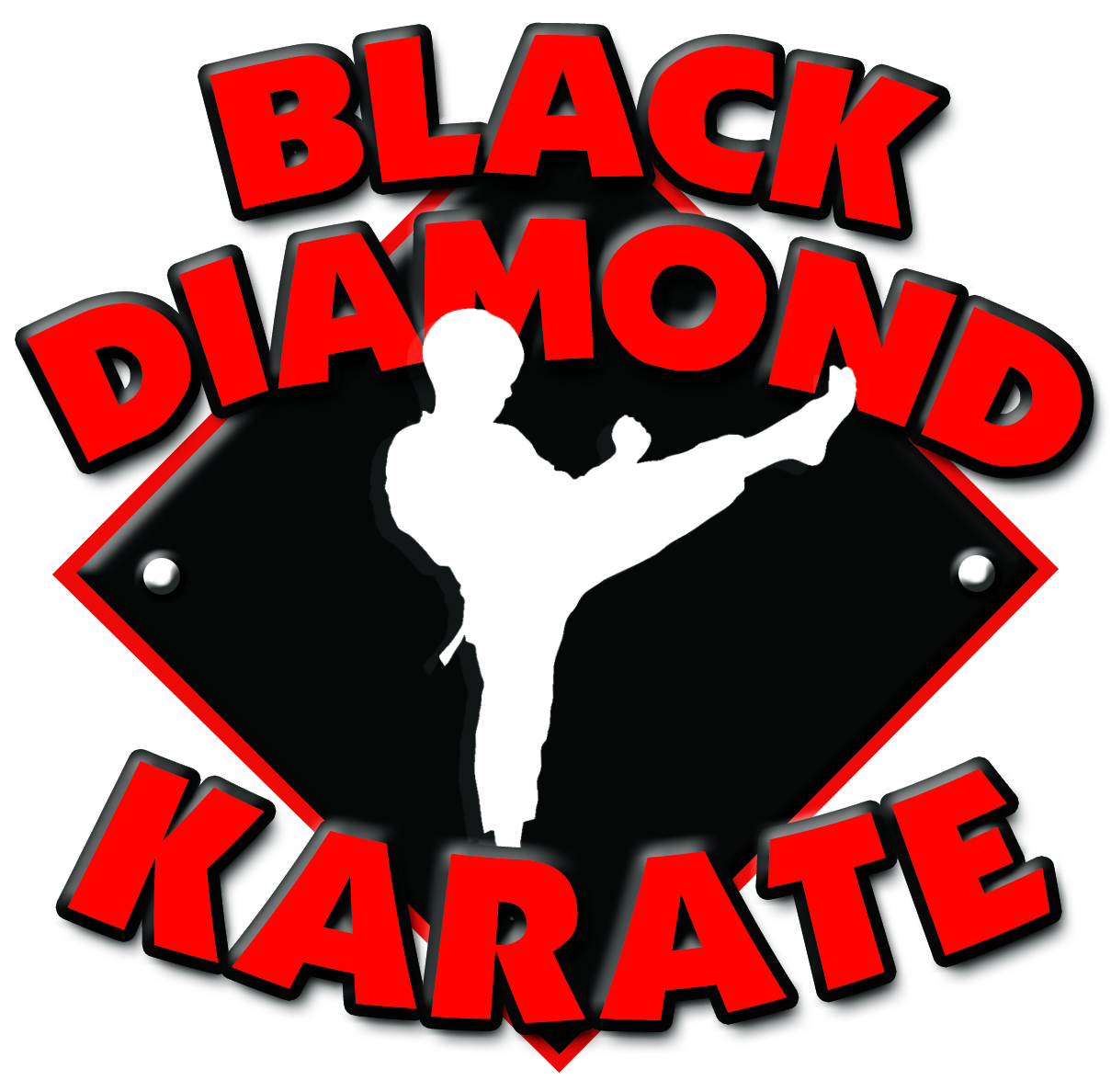 Black and White Diamond logo design  Diamond logo