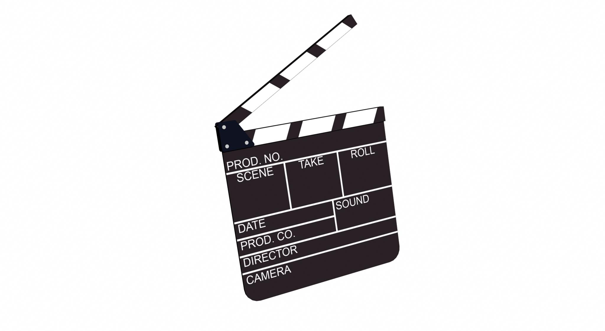 Movie Slate - ClipArt Best