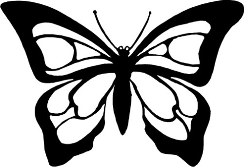 Butterfly Drawings In Black And White - ClipArt Best: www.clipartbest.com/butterfly-drawings-in-black-and-white