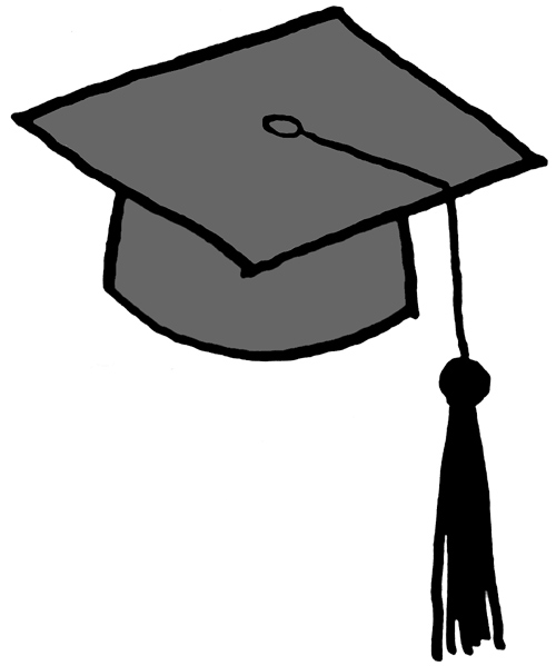 Animated Graduation Cap And Gown - ClipArt Best