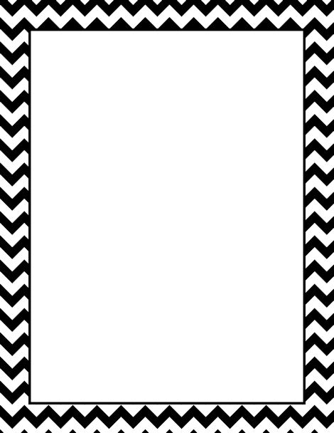 Black and white page border - ClipartFox
