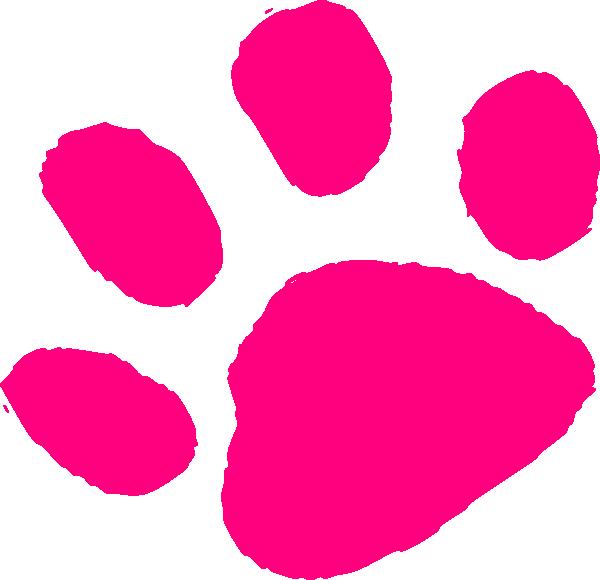 Pink Paw Print Clip Art - ClipArt Best - ClipArt Best