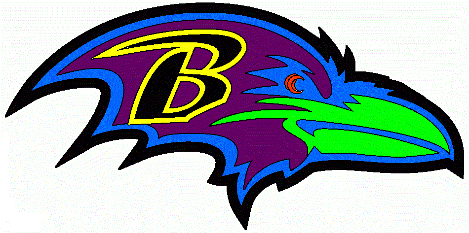 Raven Football Logo Football Team Logo Clipart