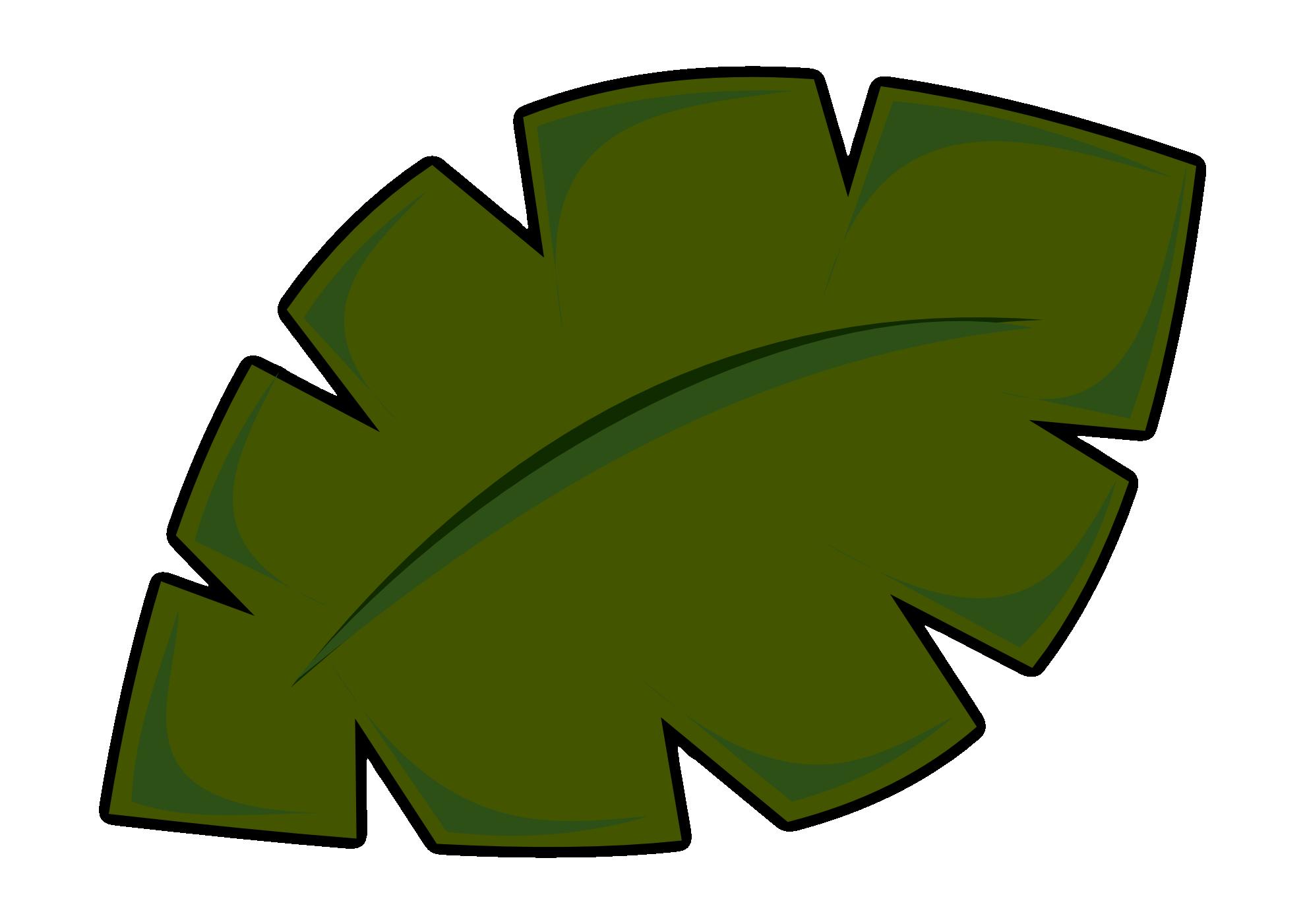 Jungle Leaf Printable - ClipArt Best