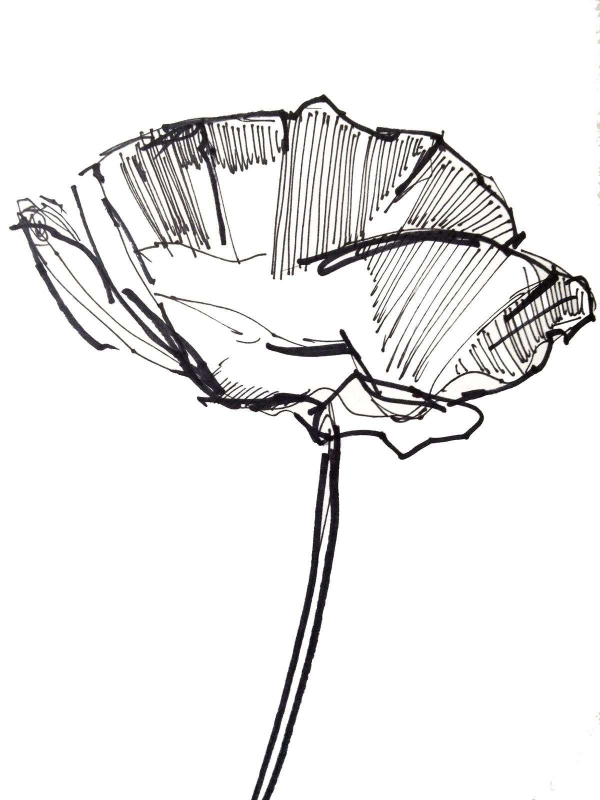 Simple Drawings Flowers ClipArt Best