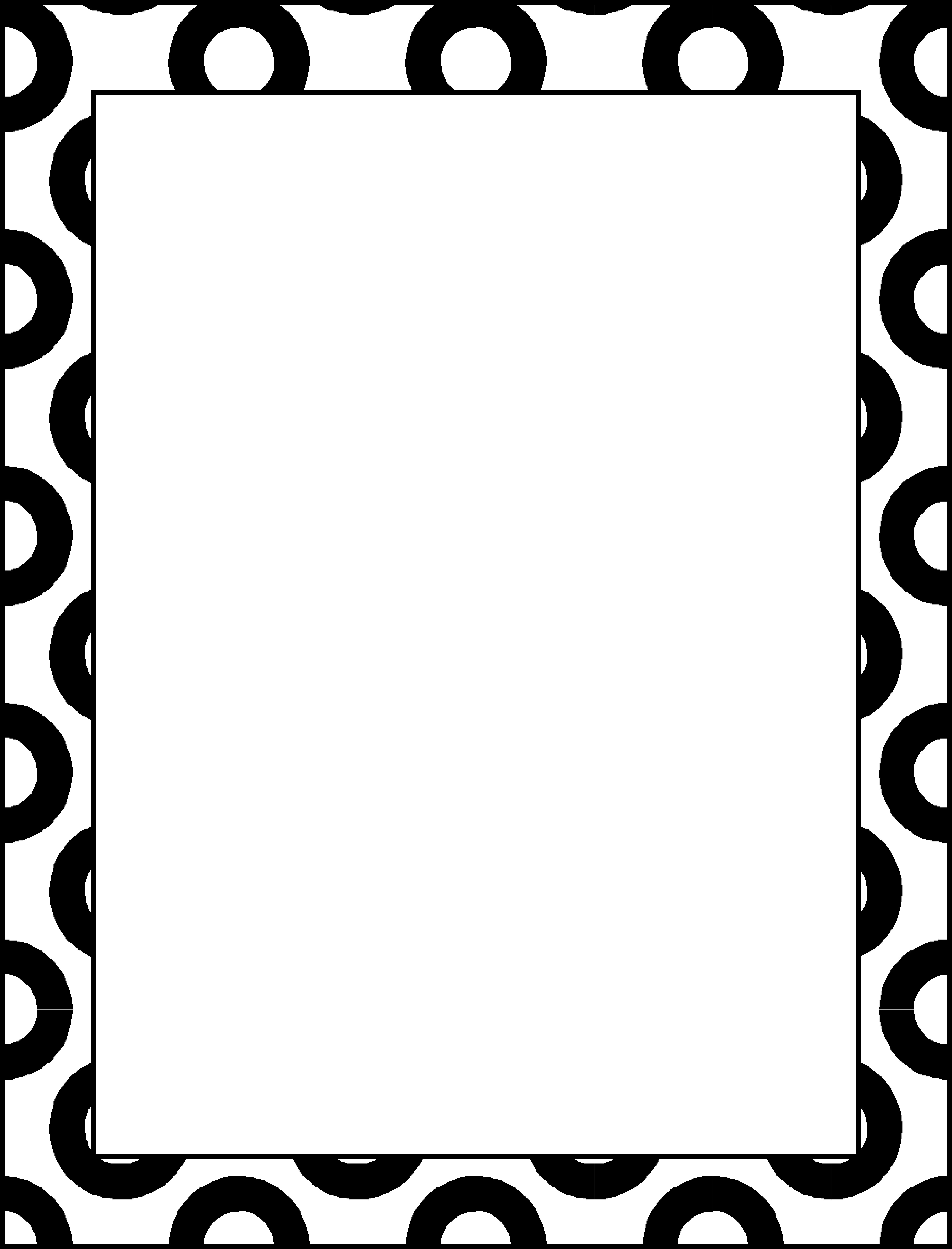 best photos of black and white border templates
