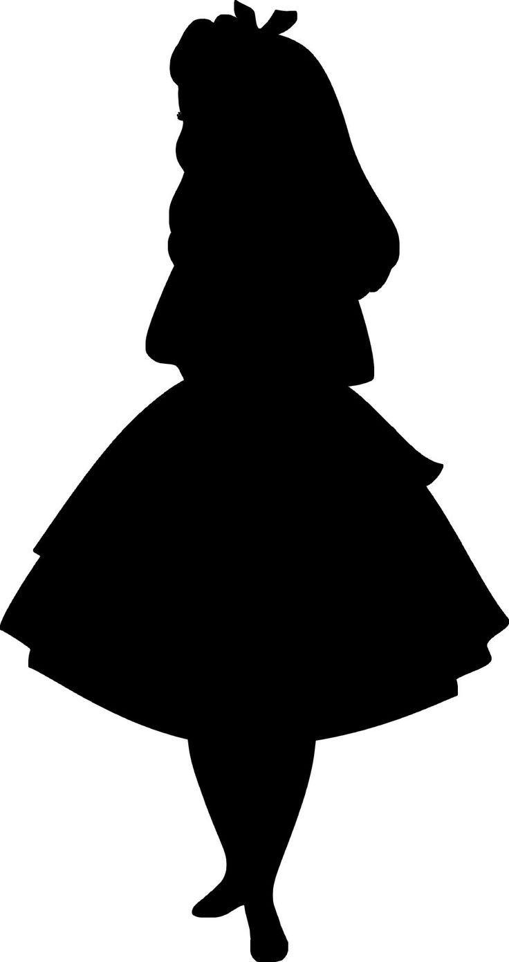 Alice In Wonderland Disney Rabbit Silhouette - ClipArt Best