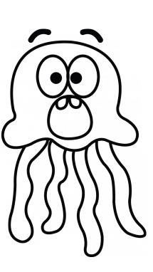 Jellyfish Drawing - ClipArt Best
