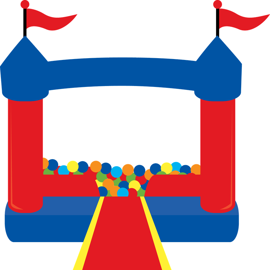 free bounce house clipart - photo #11