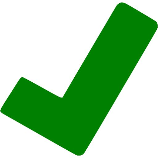 green checkbox clipart best