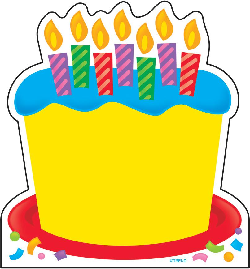 Birthday Cakes With Yellow Design - ClipArt Best