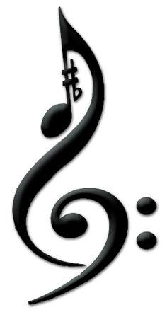treble clef bass clef tattoo clipart best. Black Bedroom Furniture Sets. Home Design Ideas