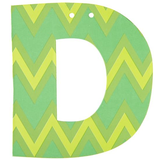 D Spell Ya Later Girl Letter in Hanging Décor | The Land of Nod