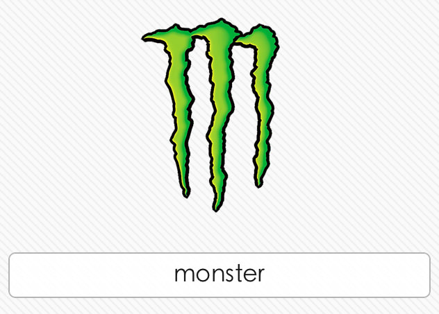 Monster Logo - Logo Quiz Cheat - ClipArt Best - ClipArt Best