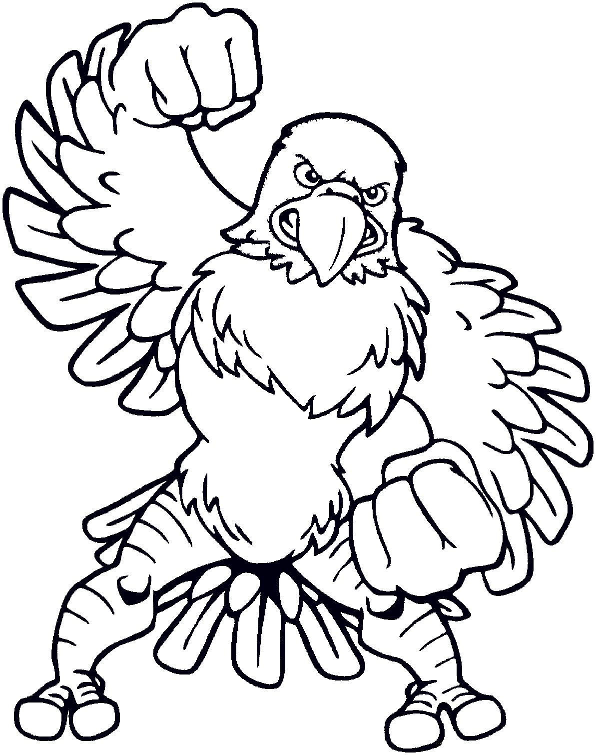 Eagle Coloring Pages For Kids Clipart Best