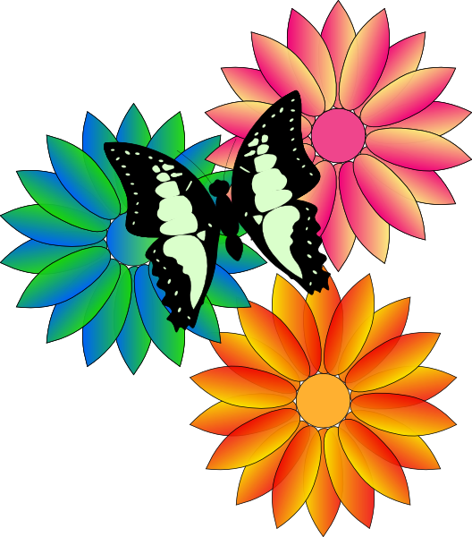 animated clip art roses - photo #48